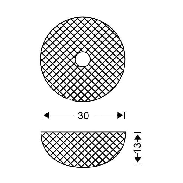 Φωτιστικό οροφής Μουράνο | QUADRI - Σχέδιο - Φωτιστικό οροφής Μουράνο | QUADRI