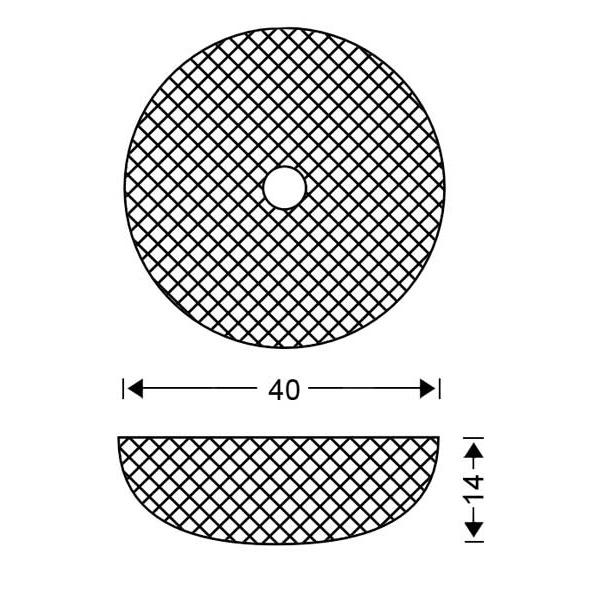 Κλασικό φωτιστικό οροφής Μουράνο | QUADRI - Σχέδιο - Κλασικό φωτιστικό οροφής Μουράνο | QUADRI