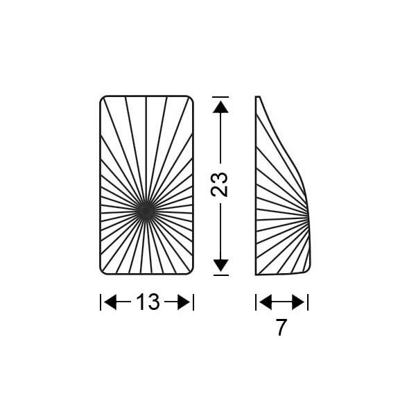 Κρυστάλλινη απλίκα | ΚΟΥΡΟΣ - Σχέδιο - Κρυστάλλινη απλίκα | ΚΟΥΡΟΣ