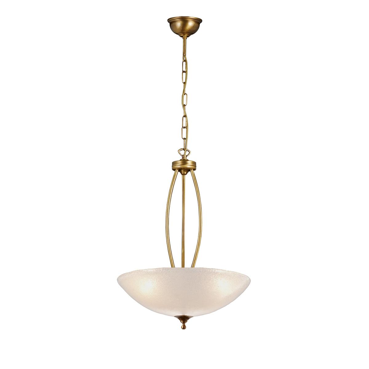 Μπρούτζινο κρεμαστό φωτιστικό ΒΙΚΟΣ brass suspension lamp