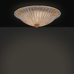 Πλαφονιέρα από κρύσταλλο Murano ΦΥΛΛΟ classic Murano crystal ceiling lamp