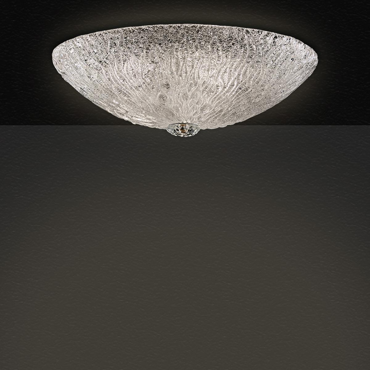 Φωτιστικό οροφής Μουράνο ΚΥΜΑΤΑ murano ceiling lamp