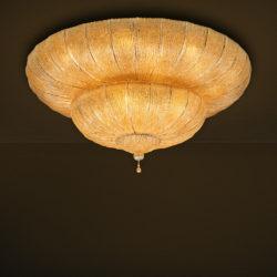 Κλασικό φωτιστικό οροφής με φύλλα Μουράνο CASTELLO classical Murano ceiling lamp