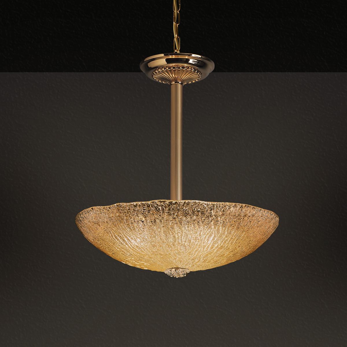 Κλασικό κρεμαστό φωτιστικό ΚΥΜΑΤΑ classic suspension lamp