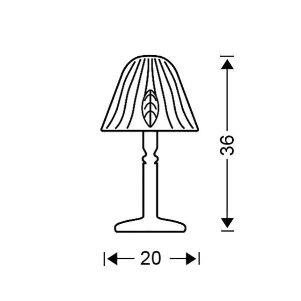 Κλασικό επιτραπέζιο φωτιστικό | ΦΥΛΛΟ - Σχέδιο - Κλασικό επιτραπέζιο φωτιστικό | ΦΥΛΛΟ