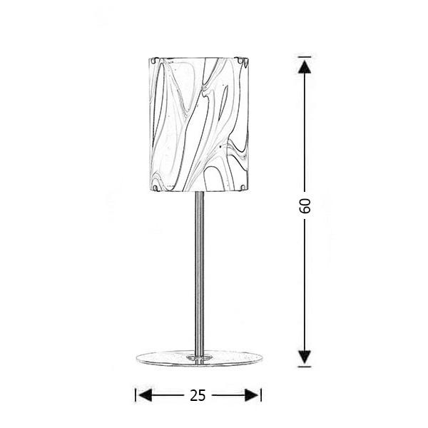 Μοντέρνα επιτραπέζια λάμπα   COLORE - Σχέδιο - Μοντέρνα επιτραπέζια λάμπα   COLORE