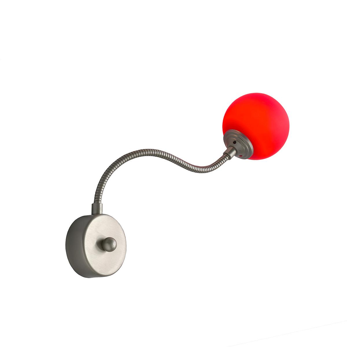 Εύκαμπτη μοντέρνα απλίκα FLEX COLOUR flexible modern wall lamp