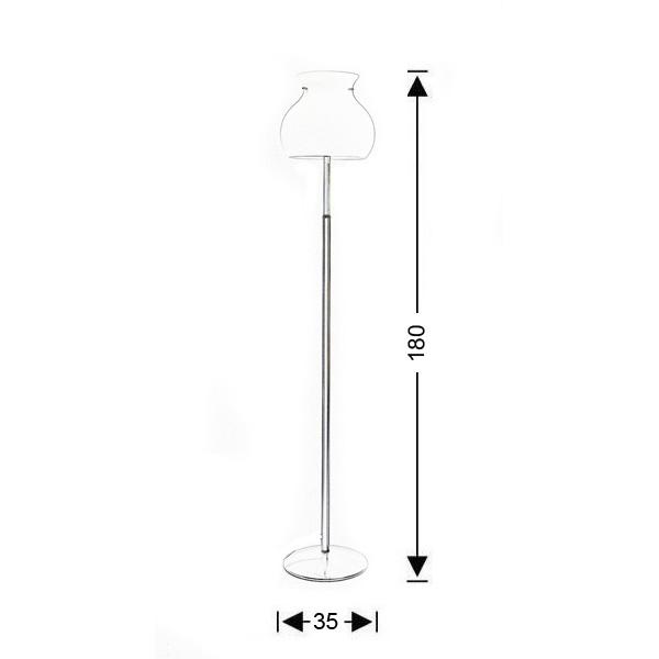 Φωτιστικό δαπέδου Μουράνο | GLOBO - Σχέδιο - Φωτιστικό δαπέδου Μουράνο | GLOBO