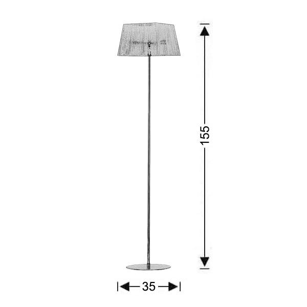 Μοντέρνο φωτιστικό δαπέδου | ΟΡΓΑΝΤΖΑ - Σχέδιο - Μοντέρνο φωτιστικό δαπέδου | ΟΡΓΑΝΤΖΑ