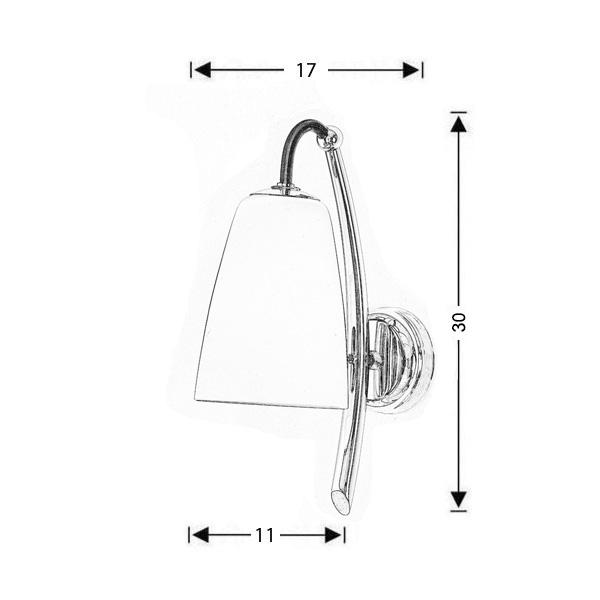 Μοντέρνα απλίκα | SWING - Σχέδιο - Μοντέρνα απλίκα | SWING