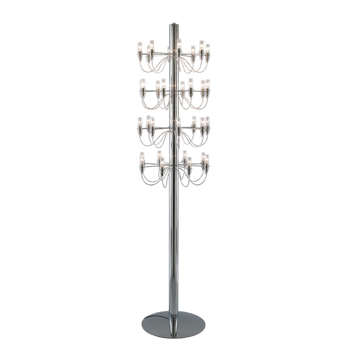 Μοντέρνο 32φωτο φωτιστικό δαπέδου ΑΚΤΙΝΕΣ modern 32-bulb floor lamp
