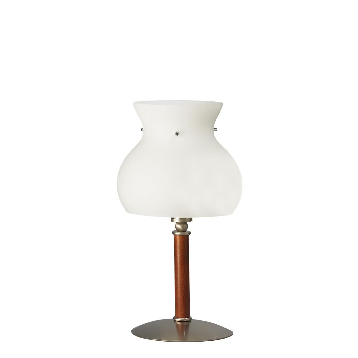 Πορτατίφ Μουράνο λευκό GLOBO murano table lamp