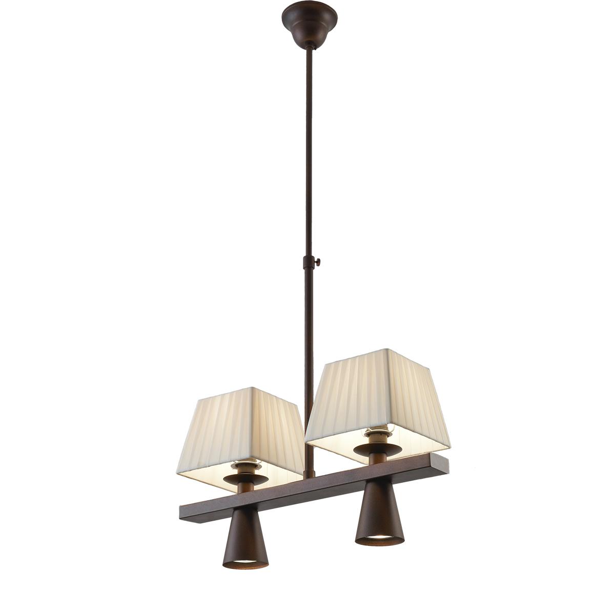 Παραδοσιακό 4φωτο φωτιστικό SMART-CAFE vintage 4-bulb chandelier