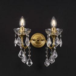 Κλασική απλίκα με κρύσταλλα ΔΙΟΝ classic wall lamp