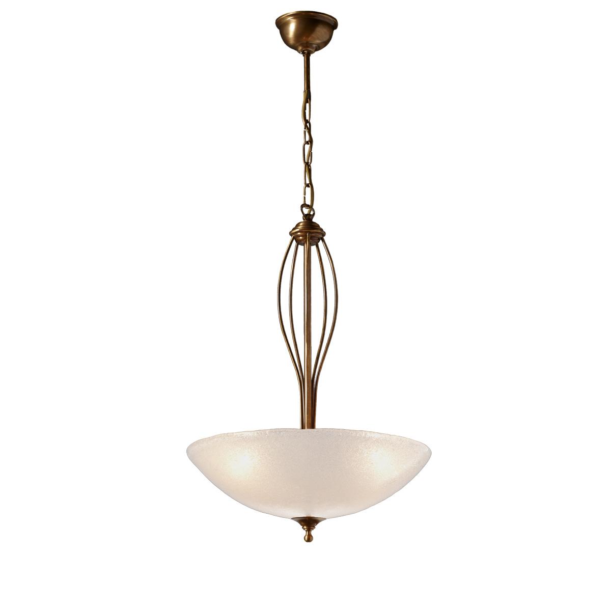 Μπρούτζινο κρεμαστό φωτιστικό ΝΥΜΦΑΙΟ brass suspension lamp
