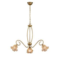 Μπρούτζινο φωτιστικό ΒΙΚΟΣ brass light fixture