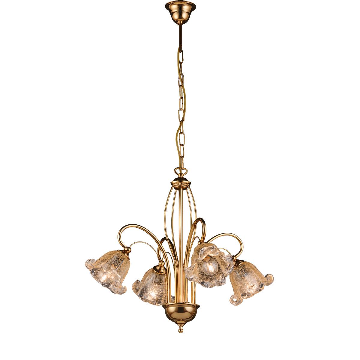 Πολύφωτο με κρύσταλλα Murano ΝΥΜΦΑΙΟ chandelier with Murano crystals