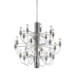 Μοντέρνο 24φωτο κρεμαστό φωτιστικό ΑΚΤΙΝΕΣ modern 24-bulb chandelier