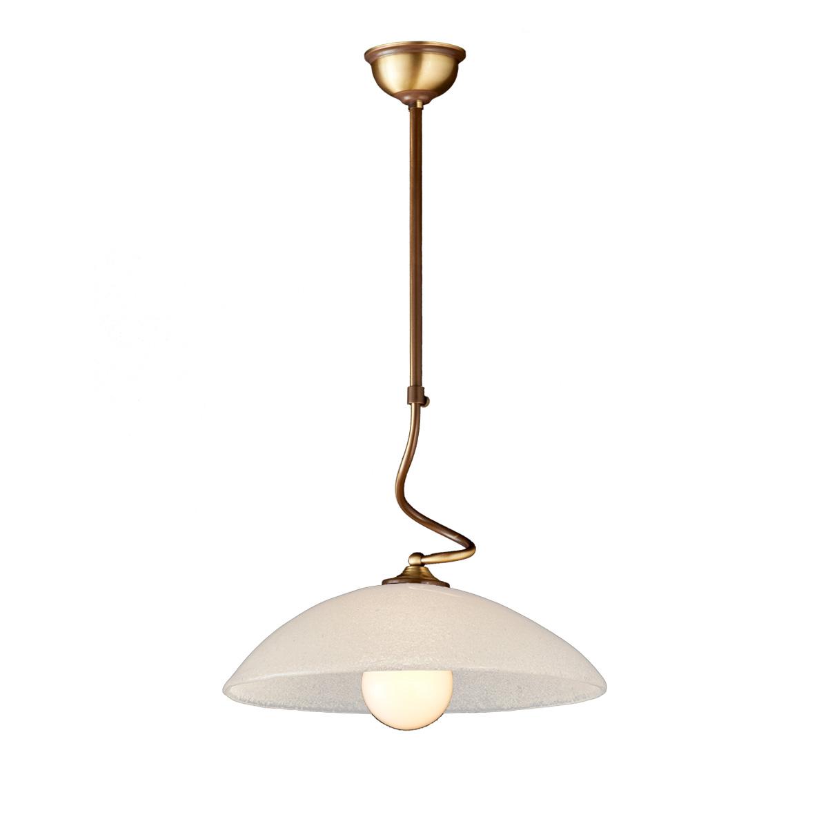 Κρεμαστό φωτιστικό Μουράνο ΝΑΞΟΣ-1 suspension lamp with Murano crystal