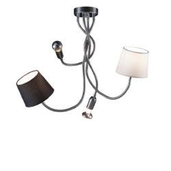 Εύκαμπτο 4φωτο φωτιστικό FLEX 4-bulb flexible lamp