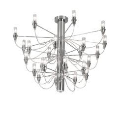 Μοντέρνο 24φωτο φωτιστικό οροφής ΑΚΤΙΝΕΣ modern 24-bulb ceiling lamp