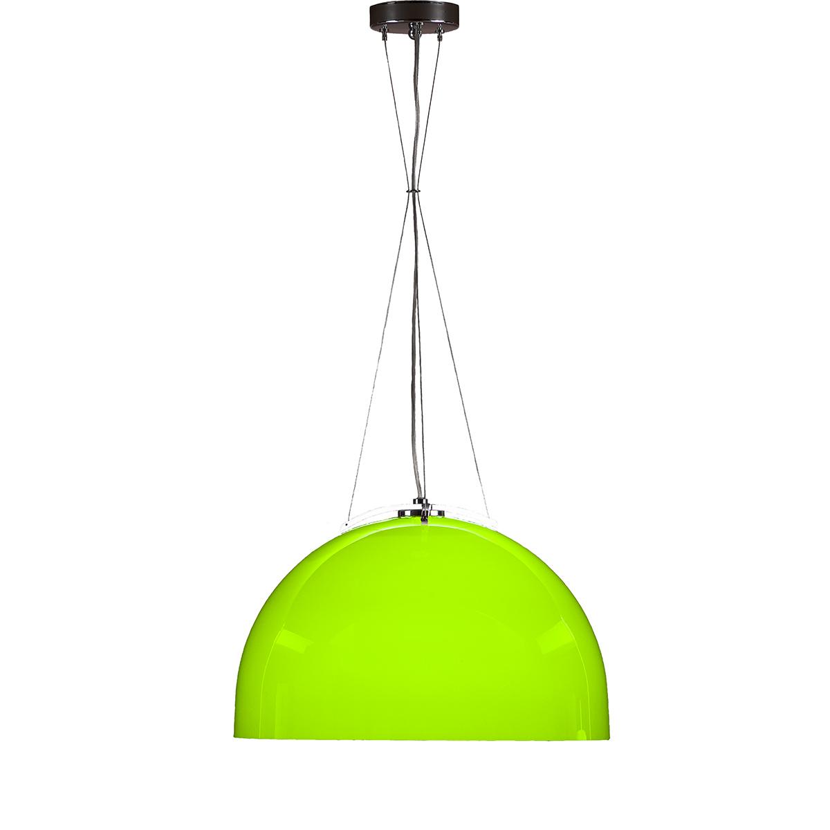 Φωτιστικό μονόφωτο Μουράνο πράσινο MARS modern green Murano suspension lamp