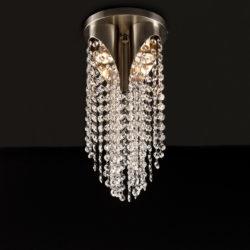 Μοντέρνο φωτιστικό οροφής με κρύσταλλα ΑΝΔΡΟΜΕΔΑ modern ceiling lamp with crystal accents