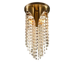 Κλασικό φωτιστικό οροφής με κρύσταλλα ΑΝΔΡΟΜΕΔΑ classic ceiling lamp with crystal accents
