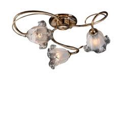 Φωτιστικό με κρύσταλλα Murano ΝΥΜΦΑΙΟ ceiling lamp with Murano crystals