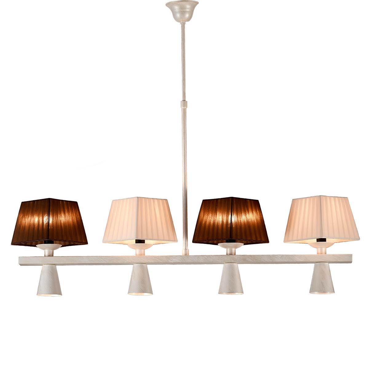Παραδοσιακό 8φωτο φωτιστικό SMART-CAFE vintage 8-bulb chandelier