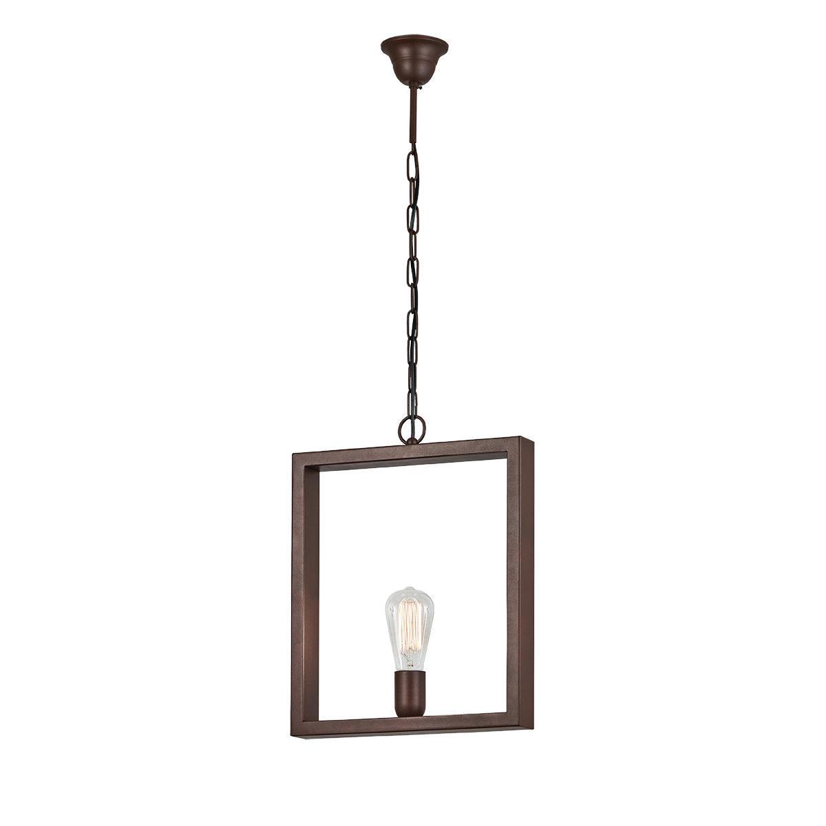 Vintage Industrial κρεμαστό φωτιστικό ΘΑΣΟΣ industrial suspension lamp