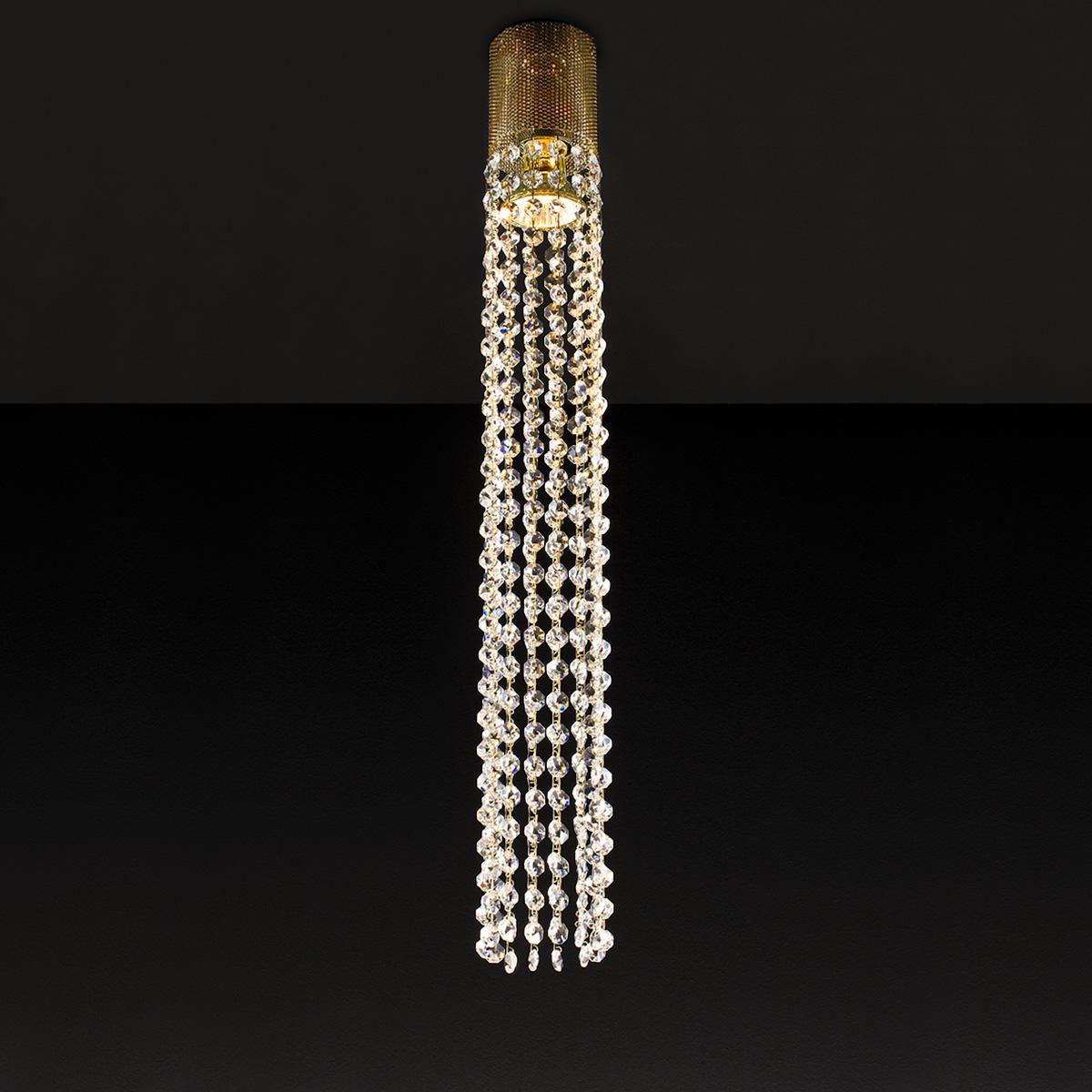 Φωτιστικό με κρύσταλλα ΑΝΔΡΟΜΕΔΑ pendant lamp with crystal accents
