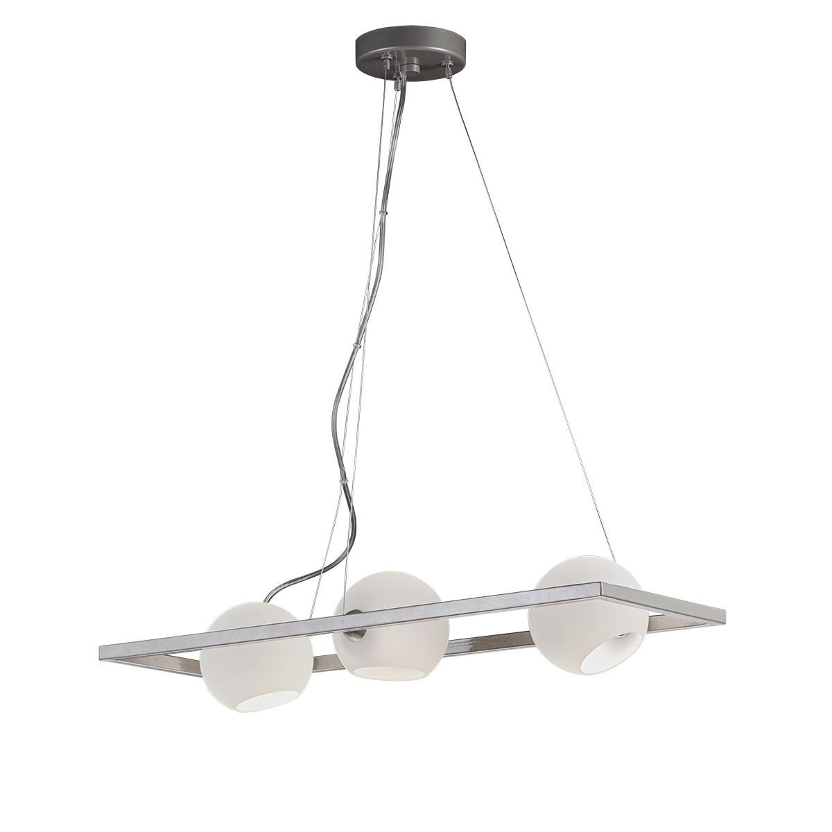 Μοντέρνο πολύφωτο με Μουράνο ΜΠΑΛΕΣ modern chandelier with Murano