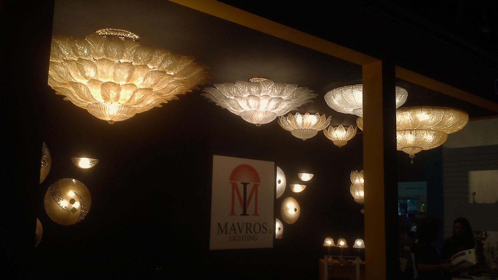 Index Dubai 2017 International Lighting Exhibition Mavros