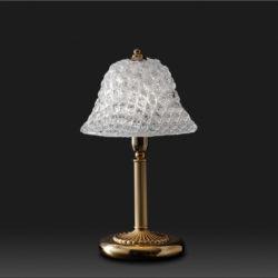 Επιτραπέζιο φωτιστικό με κρύσταλλο Μουράνο QUADRI classic table lamp