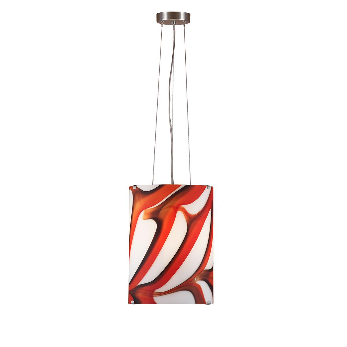 Μοντέρνο μονόφωτο Μουράνο COLORE modern suspension lamp