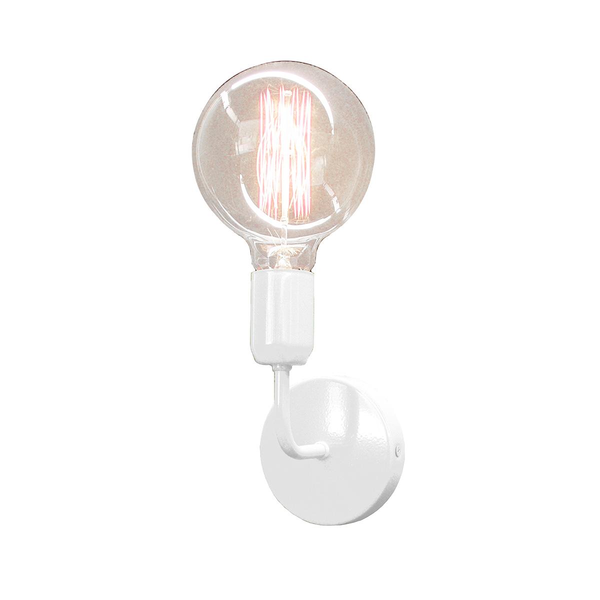 Άσπρο φωτιστικό τοίχου ΛΑΜΠΕΣ white wall lamp