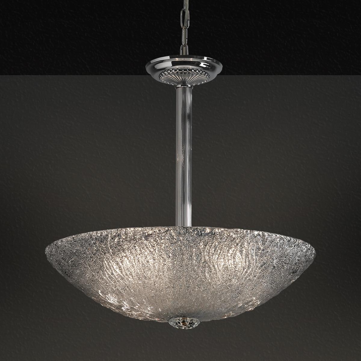 Κρεμαστό φωτιστικό Μουράνο ΚΥΜΑΤΑ murano suspension lamp