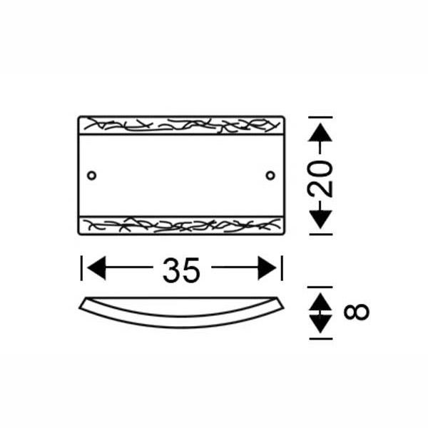 Κλασική απλίκα Μουράνο | CERVEZZA - Σχέδιο - Κλασική απλίκα Μουράνο | CERVEZZA