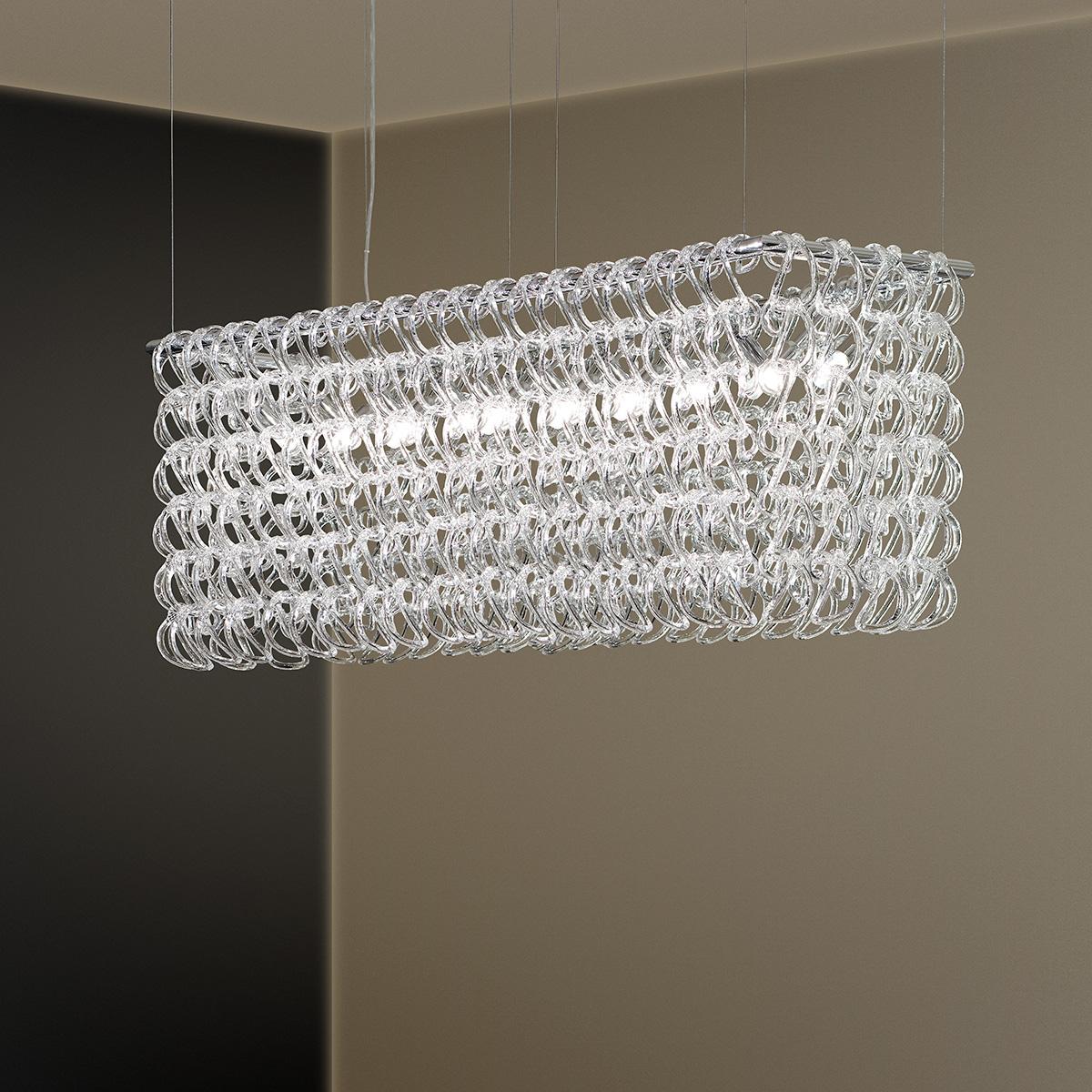 Πολύφωτο με κρύσταλλα Μουράνο ΓΑΝΤΖΟΙ murano crystal chandelier