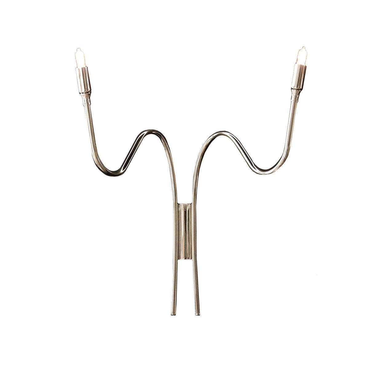 Μοντέρνα δίφωτη απλίκα VOLCANO modern 2-bulb wall lamp