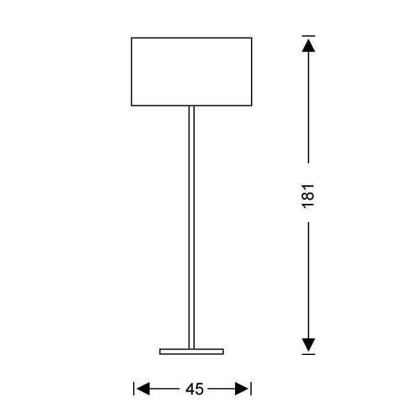 Φωτιστικό δαπέδου Μουράνο | ΚΥΛΙΝΔΡΟΙ - Σχέδιο - Φωτιστικό δαπέδου Μουράνο | ΚΥΛΙΝΔΡΟΙ