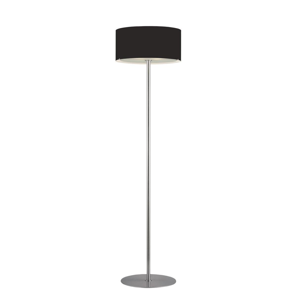 Μοντέρνο φωτιστικό δαπέδου Μουράνο ΚΥΛΙΝΔΡΟΙ modern black Murano floor lamp