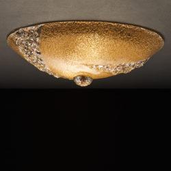Πλαφονιέρα από κρύσταλλο Μουράνο BELLA classic Murano crystal ceiling lamp