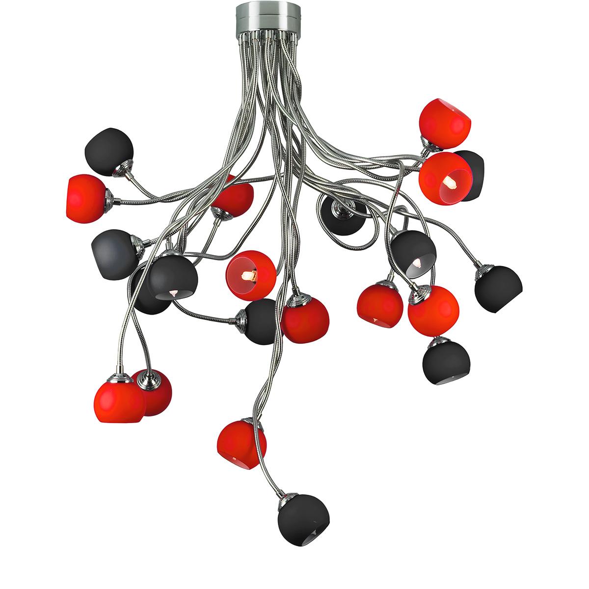 Μοντέρνο 22φωτο φωτιστικό FLEX COLOUR modern 22-bulb chandelier