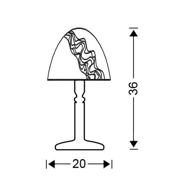 Πορτατίφ μπρούτζινο | BELLA - Σχέδιο - Πορτατίφ μπρούτζινο | BELLA