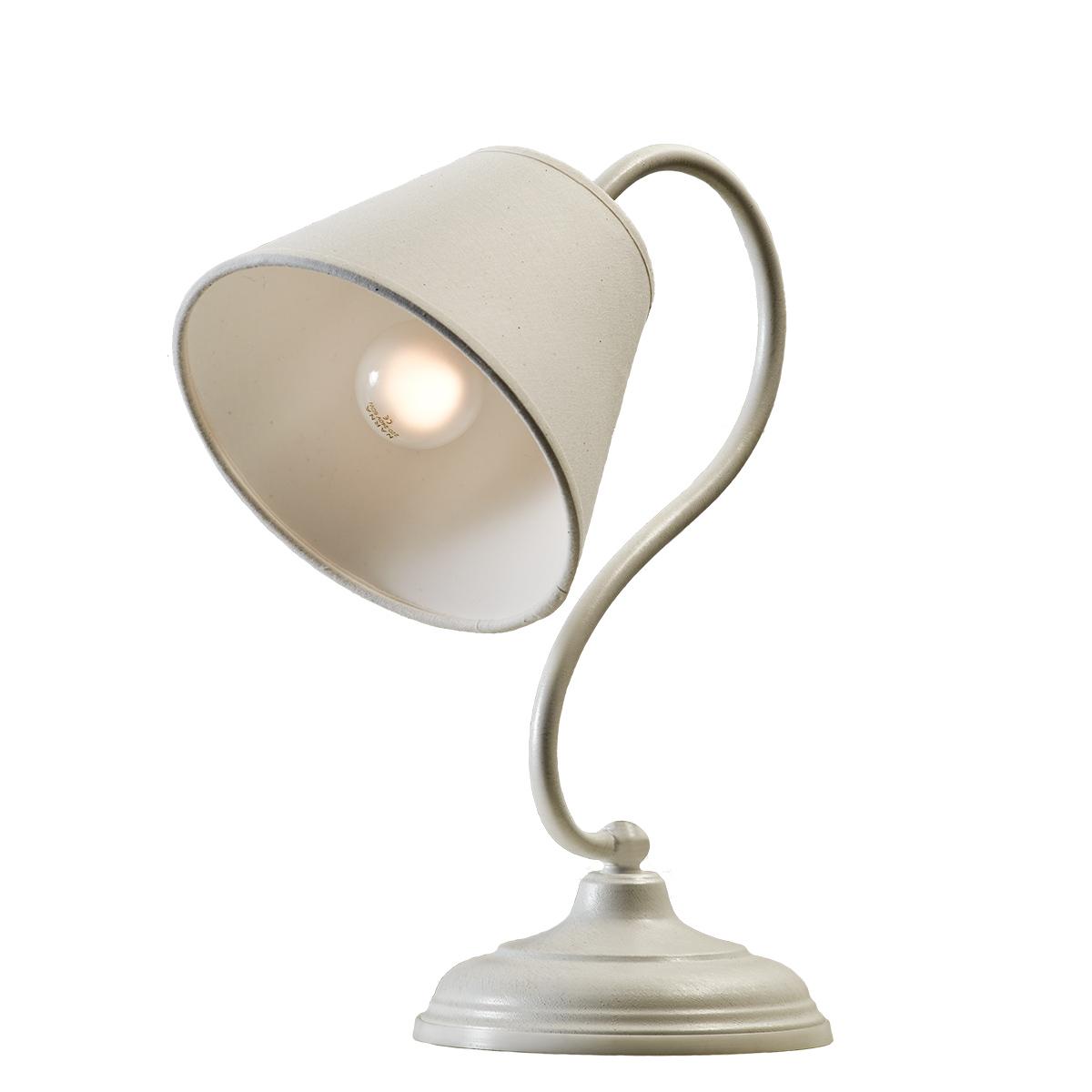Επιτραπέζιο φωτιστικό σε λευκή πατίνα ΝΑΞΟΣ-2 white patinated table lamp