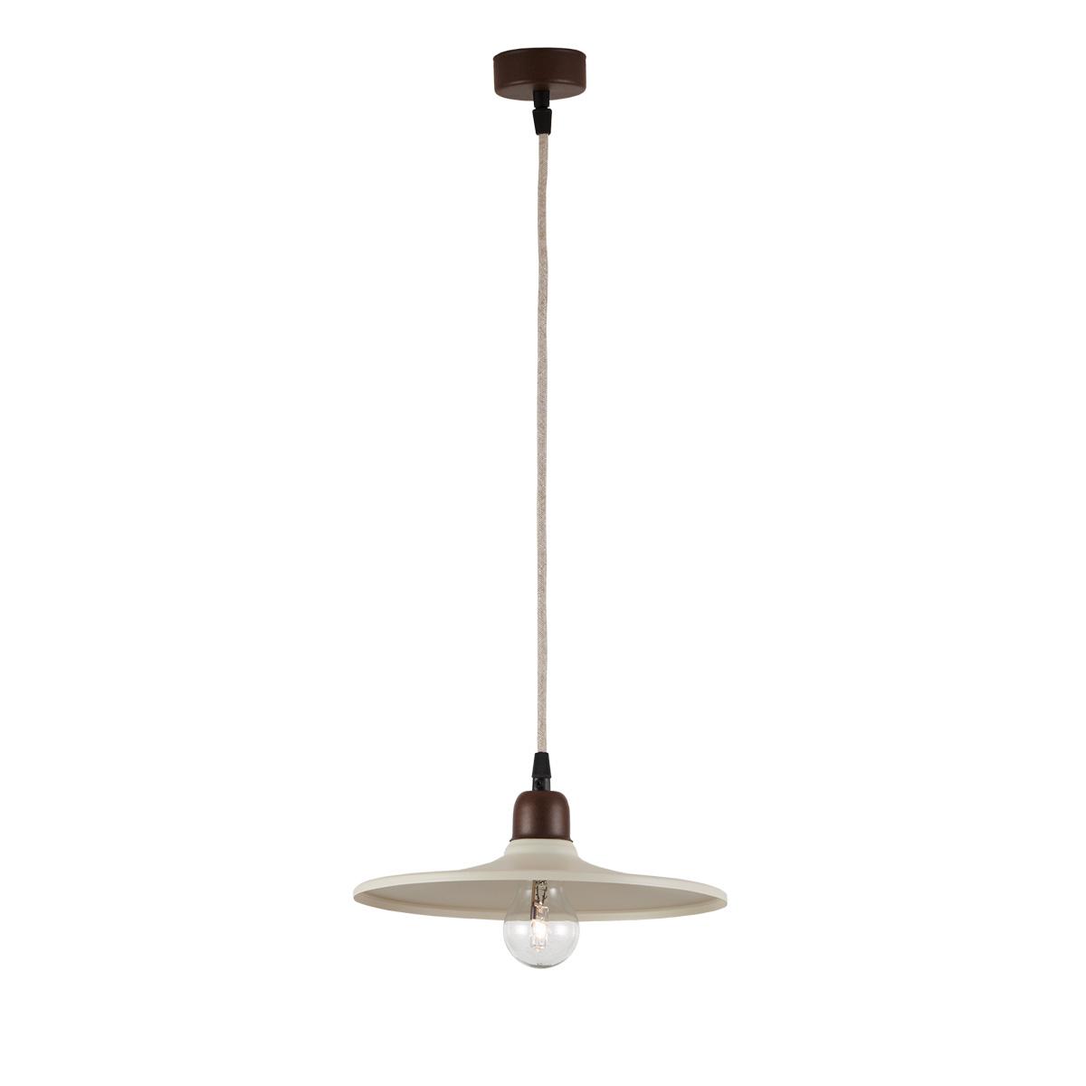 Φωτιστικό ρουστίκ ΔΗΛΟΣ rustic suspension lamp