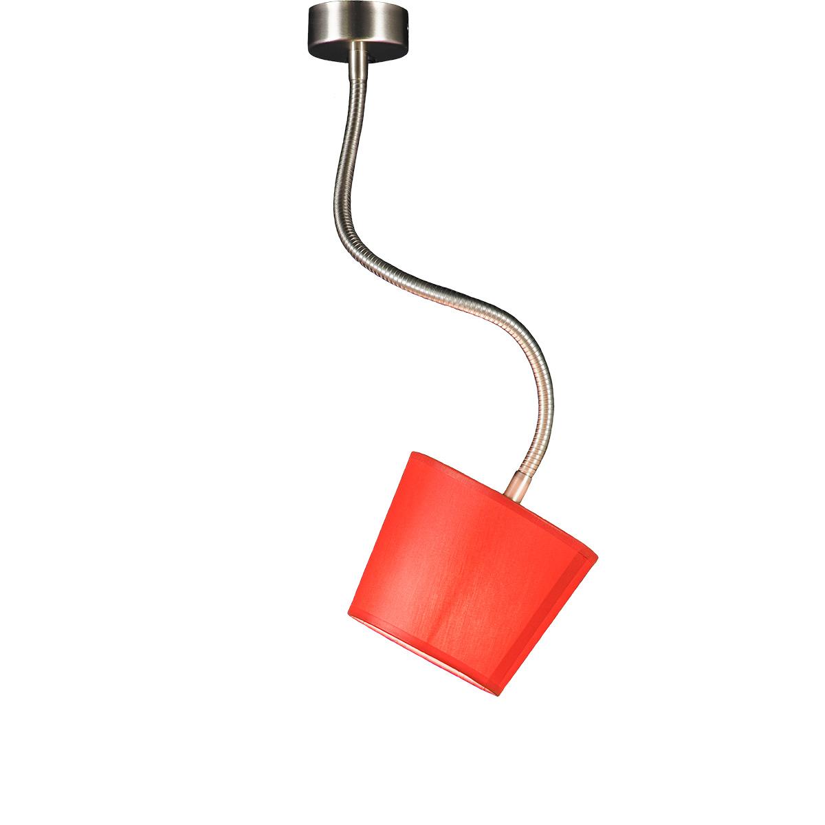 Εύκαμπτο φωτιστικό με καπέλο FLEX flexible suspension lamp with shade