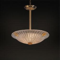Κλασικό μονόφωτο ΦΥΛΛΟ classic suspension lamp
